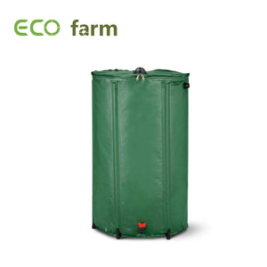 ECO Farm Collapsible Runoff Portable Rain Barrel Water Storage Tank