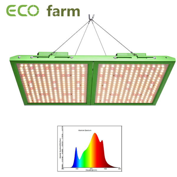 ECO Farm Spliced 100W/200W/300W/400W/500W/600W Quantum Board Full Spectrum Green Type With Samsung 281B Chips