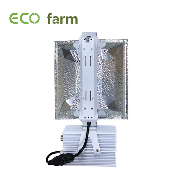 ECO Farm 1000W Double Ended HPS Large Wide Open Grow Light Kit