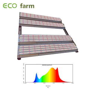 ECO Farm 480W V3 Samsung 301H Chips MeanWell Driver Movable Quantum Light Bar