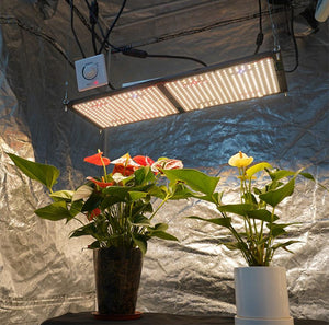 ECO Farm Quantum Board With Samsung 301B Or 301H Chips Warm White+Red+UV+IR Customize Knob Dimming LED Grow Light