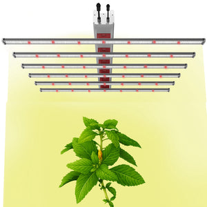 ECO Farm 660W/760W/900W LED Light Strips With Samsung 301B+ Osram Chips Full Spectrum Greenhouse LED Grow Light