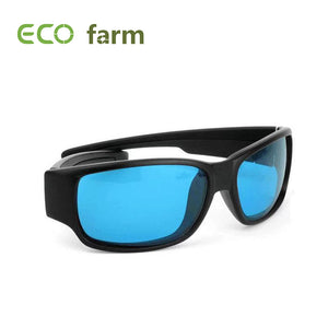 ECO Farm Eye Protect Glasses LED Grow Room Glasses Anti-glare Anti-UV Blue Lens For Tent Greenhouse Hydroponics