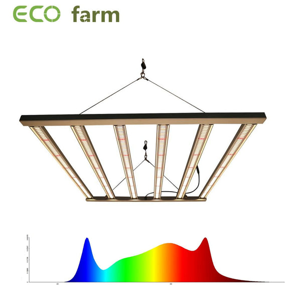 ECO Farm 320W/480W/650W/1000W/1200W SEOUL Chips Full spectrum LED Grow Light Bars