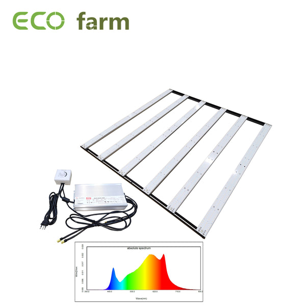 ECO Farm 600W Assemble Led Lights With Samsung 301H Chips MeanWell HLG-600H-48B Driver Dimmable Full Spectrum Light Strips