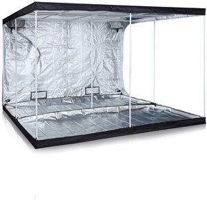 ECO Farm 10*10 FT (120*120 Inch/ 300*300 CM) Grow Tent For Seedlings Cuttings And Flowering