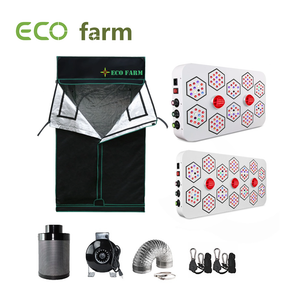 Eco Farm A Series 4*4FT (48*48 Inch/ 120*120 CM) Indoor Grow Tent Complete Kit For 4 Plants Easy To Set