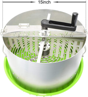 Risentek 16 Inch Bud Leaf Trimmer Machine Hydroponic Bowl Trimming