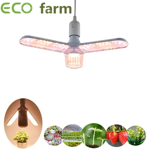 ECO Farm LED Grow Light 48W Phytolamp Full Range 85-265V Home Plant Lamps 5730 LEDS Chip Flower Seeds Plant Lighting Seeds For Plants