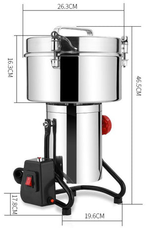 ECO Farm Electric Spice Grinder Machine Huge Power For Commercial