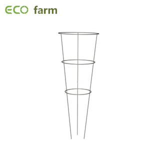 ECO Farm Plant Support Cage Steel+Plastic Garden Plant Support Climbing Plants