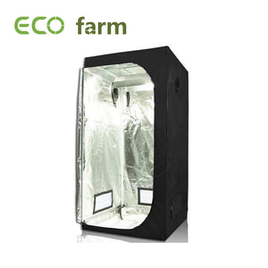 ECO Farm 3.3*3.3FT (40*40 Inch/ 100*100 CM) Tent Hydroponics Indoor Dark Room Greenhouse Grow Tent