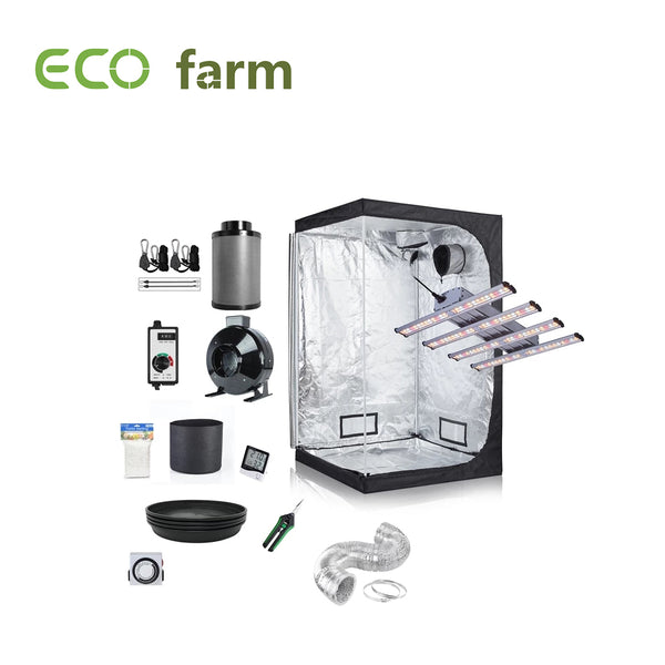 Eco Farm 3*3FT(36*36*80 Inch/ 90*90*200 CM)DIY Complete Grow Tent Package