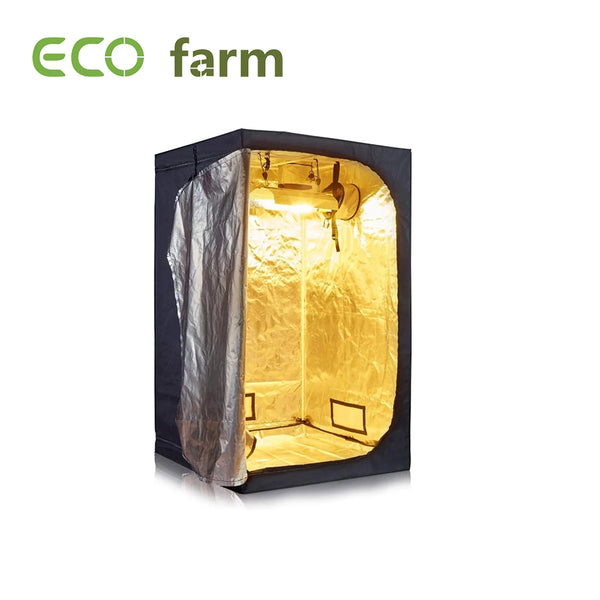 Eco Farm 4*4FT (48*48 Inch/ 120*120 CM) Tent Hydroponics Indoor Grow Tent