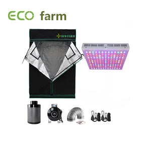 Eco Farm 5*5FT (60*60 Inch/ 150*150 CM) Complete DIY Grow Tent Indoor Planting System For 6 Plants