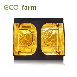 Eco Farm 8*8FT (96*96*80 Inch/ 240*240*200 CM) Reflective Mylar Indoor Hydroponic Grow Tent