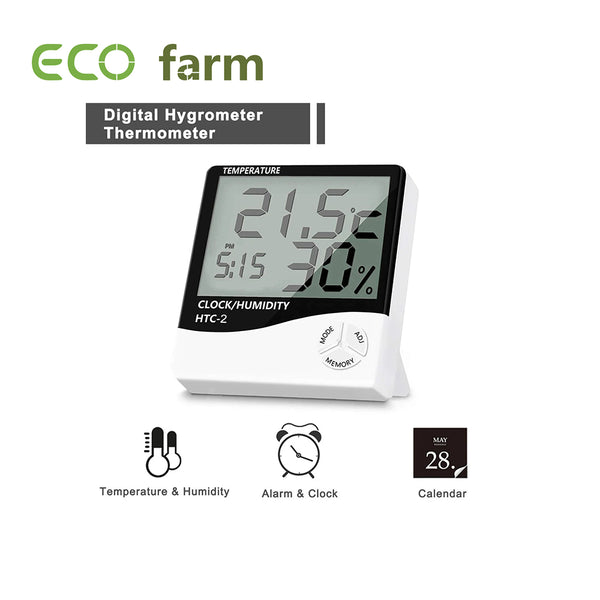 ECO Farm Hygro/Temperature/Humidity Meter For Hydroponics
