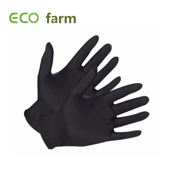 ECO Farm Black Nitrile Gloves