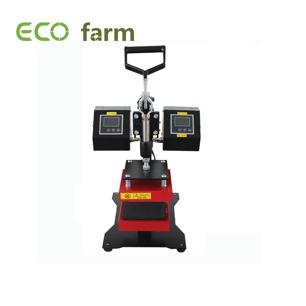 ECO Farm Double Sided Heat Rosin Press Machine For Household Use