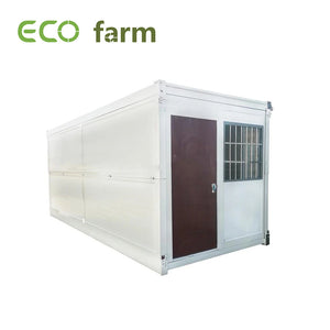 ECO Farm Fast-insltalled Luxury Foldable Container Grow House White/Red/Blue/Yellow