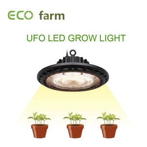 ECO Farm High Power Full Spectrum 100W/150W/200W UFO LED Grow Light