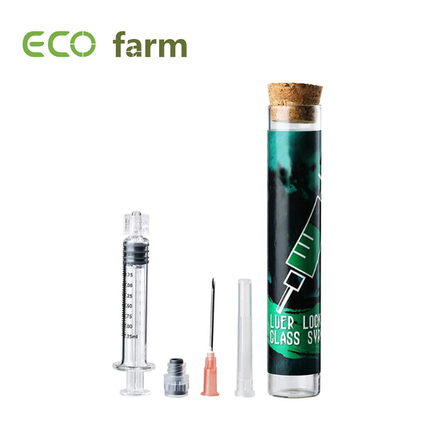ECO Farm Luer Lock Glass Syringe 1.0ml