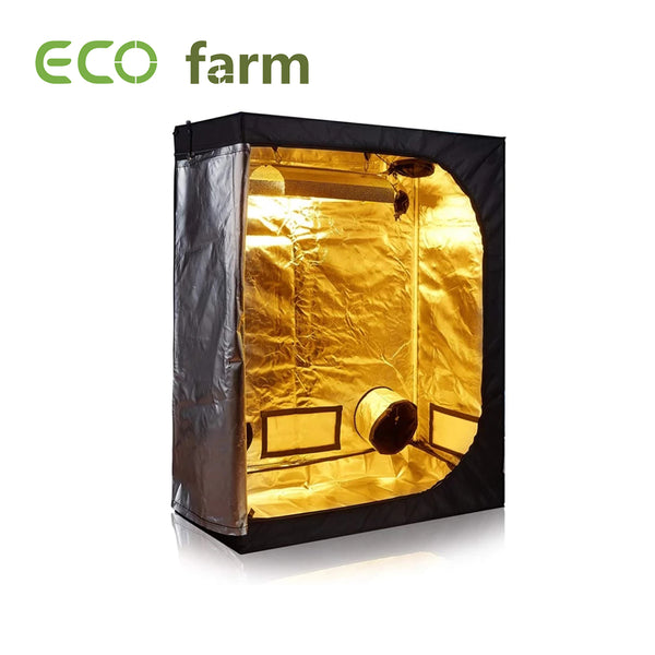 Eco Farm Removable 4.7*4.7FT (56*56*80 Inch/ 140*140*200 CM) Greenhouse Grow Tent