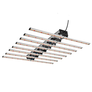 ETL DLC Listed Commercial 640w Full Spectrum LED Grow Light Bar for indoor mircrogreens Medical Plants
