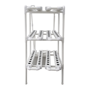 ECO Farm Hydroponics Grow Rack System Multi-Layer 12 Tube Soilless Cultivation Equipment