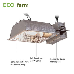 ECO Farm 315 Watt Ceramic Grow Light Single Ended For Hydroponics Indoor Plants
