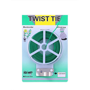 ECO Farm 164FT/328 FT Garden Twist Tie With Cutter
