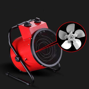 ECO Farm Portbale Electric Fan Heater for Grow Room