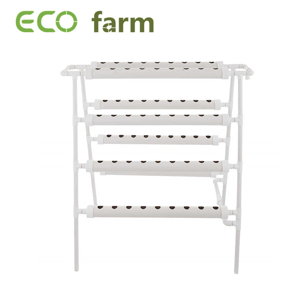 ECO Farm Vertical Farming 4 Layers 8 Pipes 72 Plant Sites Hydroponic Growing System