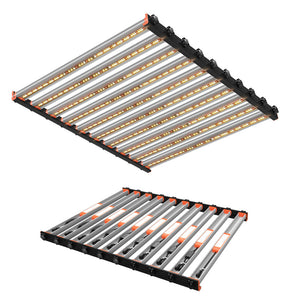 ECO Farm 650W LED Grow Light Strips With Osram Chip Full Spectrum Easy Set Up Light Without Dimming