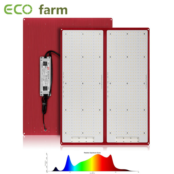 ECO Farm 240W/480W Dimmable Quantum Board With Samsung 301H Chips + UV IR And MeanWell Driver Red Version
