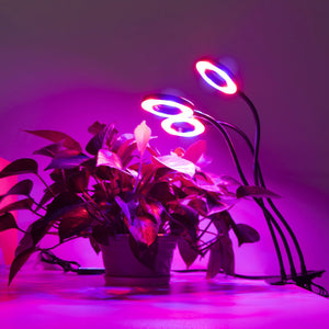 ECO Farm Three Head Led Grow Light Clip Adjustable USB Type Light Strips
