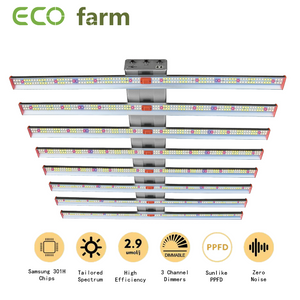 ECO Farm 250W/510W/700W/1000W LED Grow Light Strips With Samsung 301H Chips Separately UV+IR Control