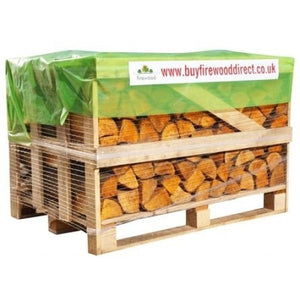 kiln dried hardwood logs small crate