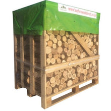 Load image into Gallery viewer, kiln dried ash oak unsplit firewood logs large crate