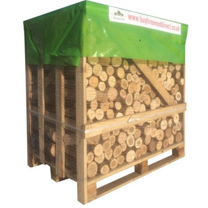 kiln dried ash oak unsplit firewood logs large crate