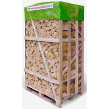 Load image into Gallery viewer, kiln dried birch firewood logs BEST BUY crate