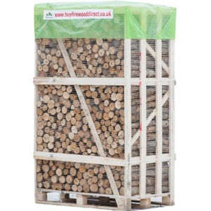 Kiln dried unsplit hardwood firewood logs BEST BUY crate