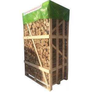 kiln dried ash oak unsplit firewood logs BEST BUY crate