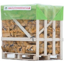 Load image into Gallery viewer, kiln dried birch firewood logs in bags 40 nets 22l