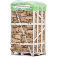 Load image into Gallery viewer, kiln dried ash oak firewood logs 80 nets bags 22l