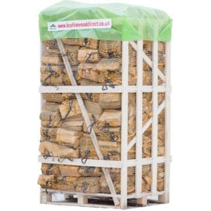 kiln dried ash oak firewood logs 80 nets bags 22l