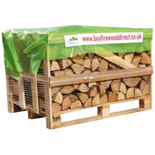 Load image into Gallery viewer, kiln dried ash oak firewood logs small crate