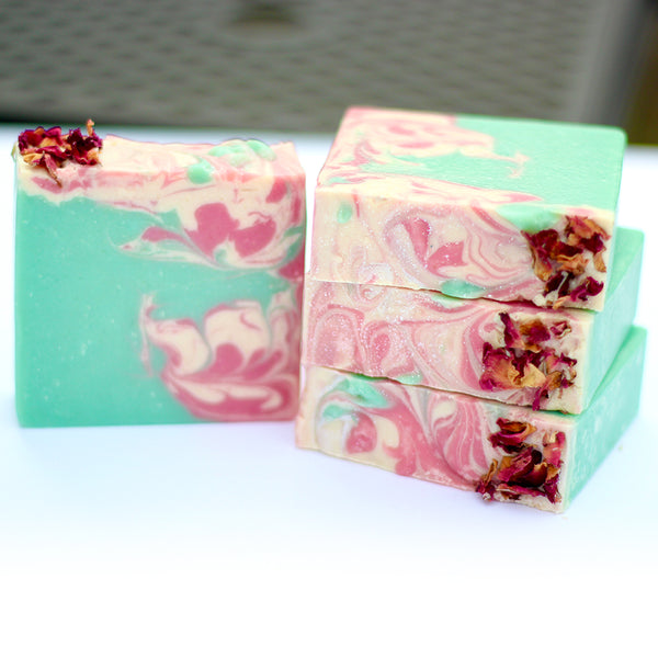 Rose & Frankincense Handmade Soap - Gifts A Bliss