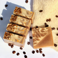 Coffee & Goat Milk Natural Artisan Soap