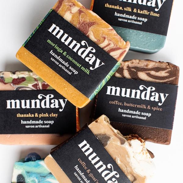 Munday Natural Artisan Soap Collection